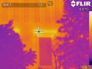 Thermografie - koudebrug - linteel
